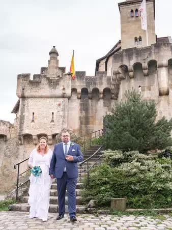 Brautpaar Location Höldrichsmühle und Schloss Lichtenstein